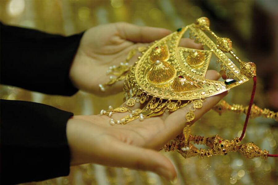 موجود المصاغات عند بداية الدورة في برنامج حسابات لمحلات الذهب