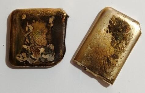 رنگ طلای آبشده چیست
