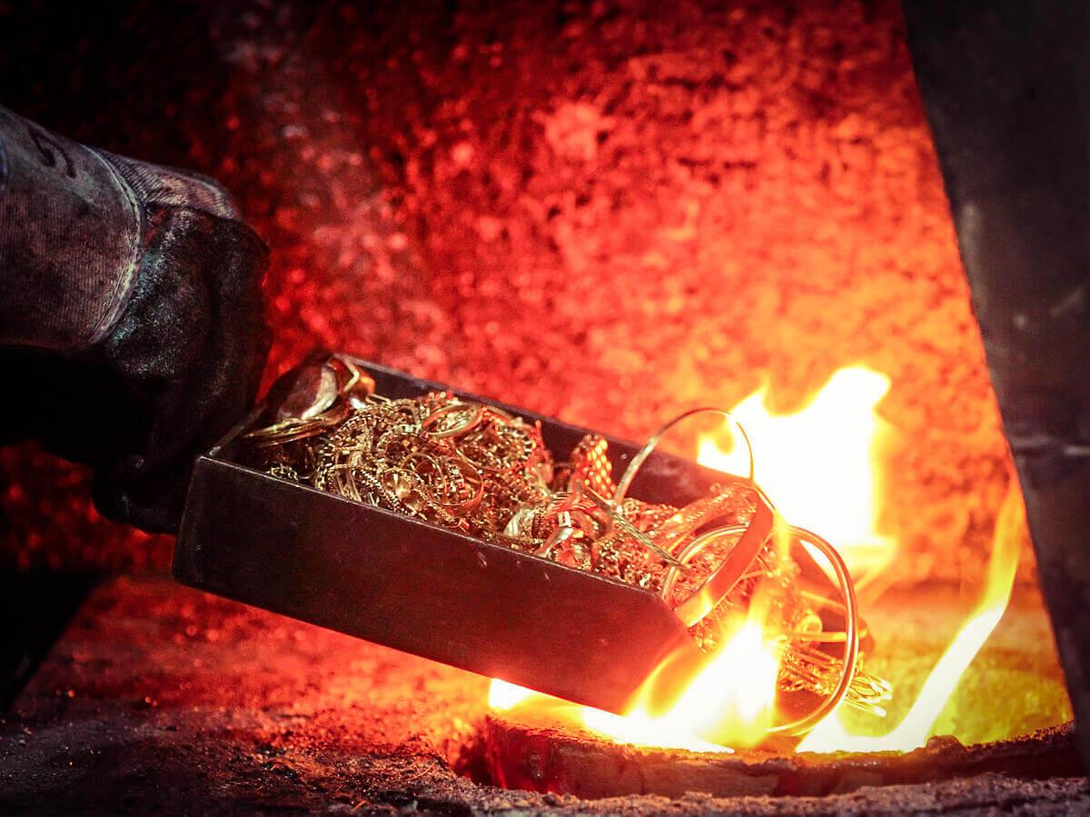 طلای متفرقه به شرط ذوب در حسابداری طلا فروشی