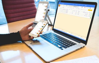 نرم افزار حسابداری طلا فروشی در تلفن همراه شما